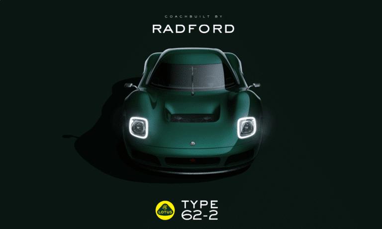 Lotus Type 62-2 coachbuilt by Radford