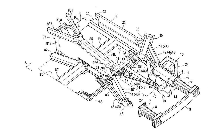 Mazda patent 1