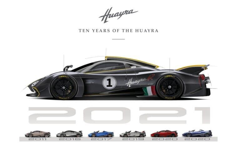 Pagani Huayra Anniversary