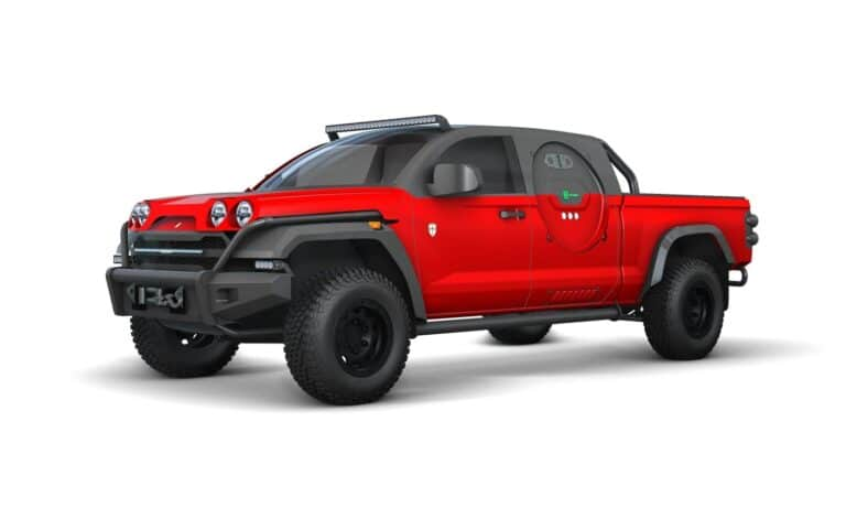 Scuderia Cameron Glickenhaus presents its fcev pickup truck concept