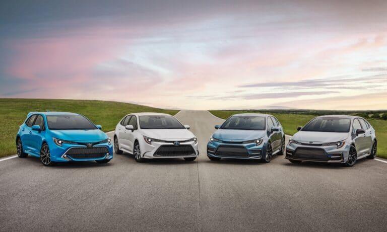 Toyota Corolla Family 2021