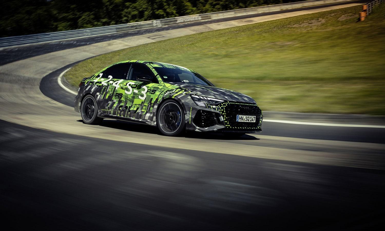 Audi RS 3 récord Nürburgring