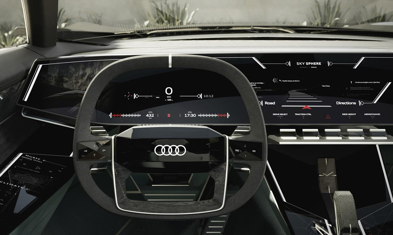 Audi Skysphere concept salpicadero