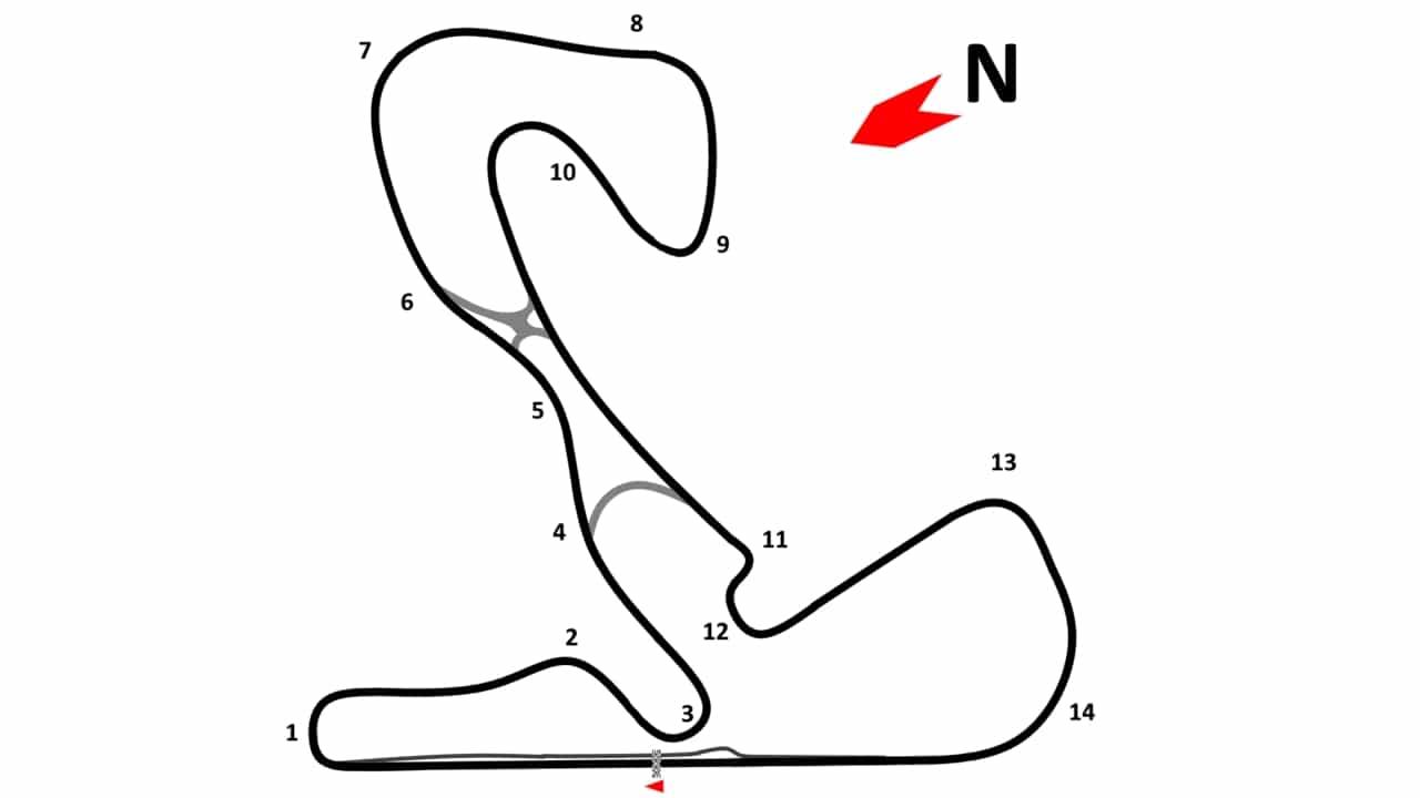 GP de Holanda, Zandvoort circuito