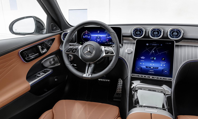 Mercedes Clase C All-Terrain interior