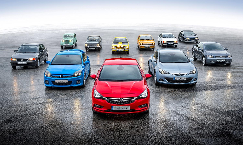Opel Astra y Kadett