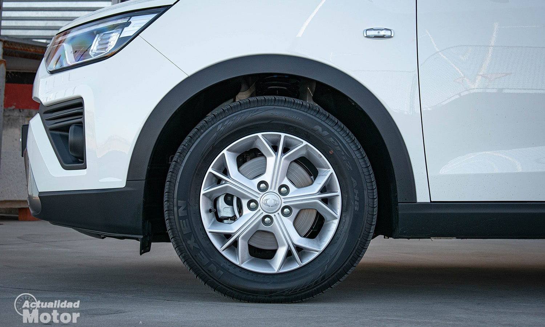 Prueba SsangYong Tivoli Grand G15T ruedas