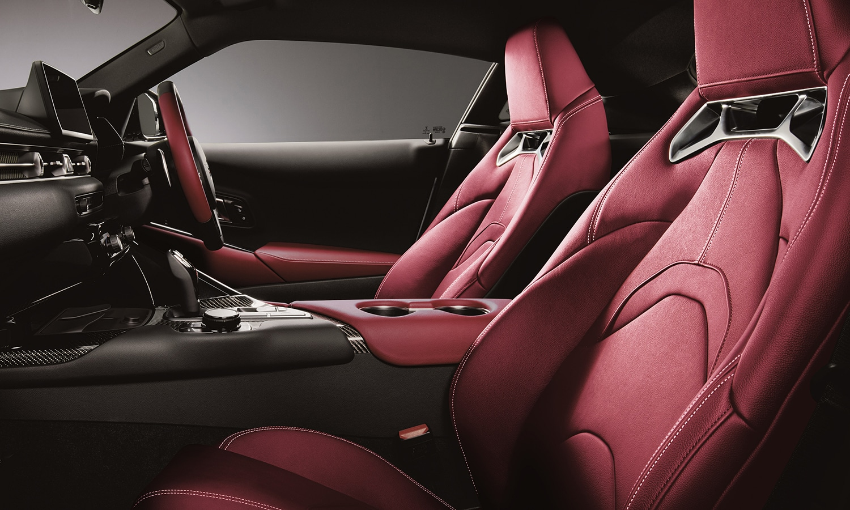 Toyota Supra 35 aniversario interior
