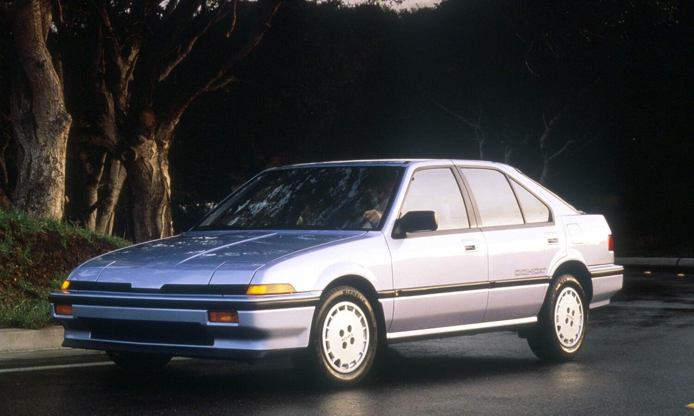 1986 Acura Integra RS 5-door.