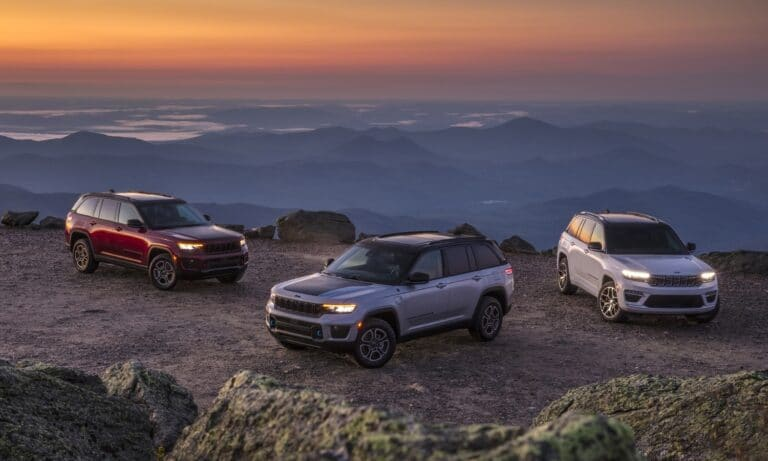 All-new Jeep Grand Cherokee family
