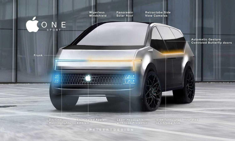 Apple One Car render