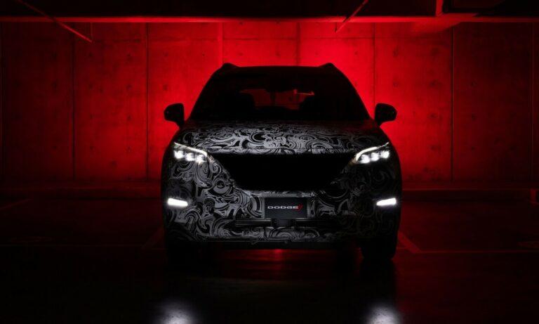Dodge SUV spy photo