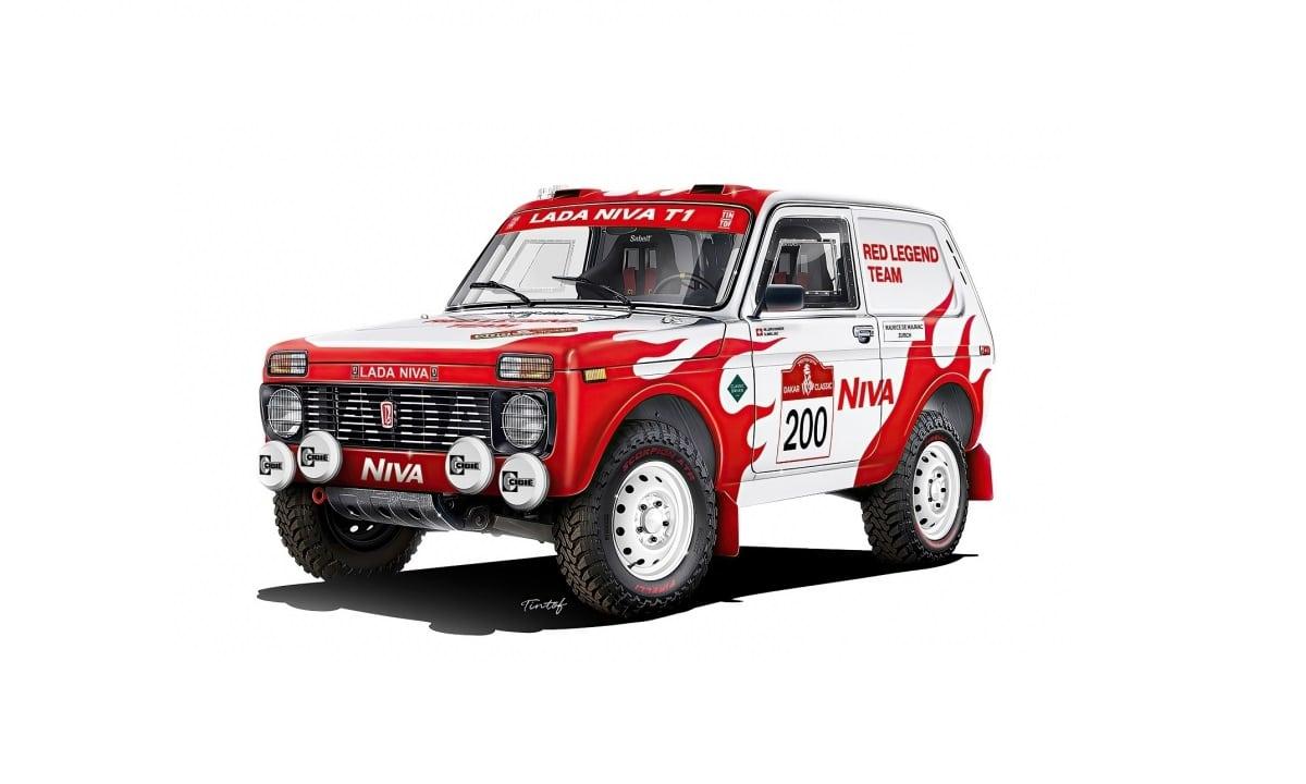 Lada Niva - NIVA RED LEGEND Team