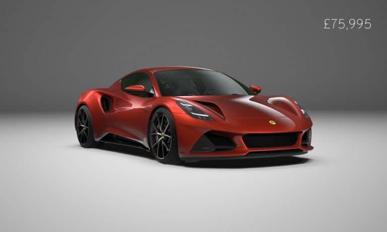 Lotus Emira First Edition Magma Red
