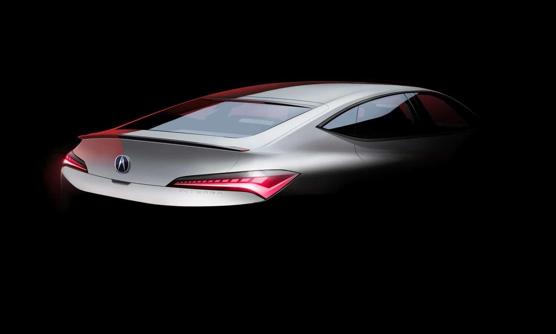 New Acura Integra Teaser