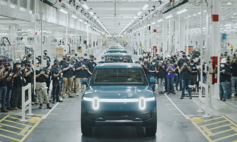 Rivian R1T EV Pick Up 1st production