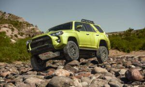 Toyota 4Runner TRD Pro Lime Rush
