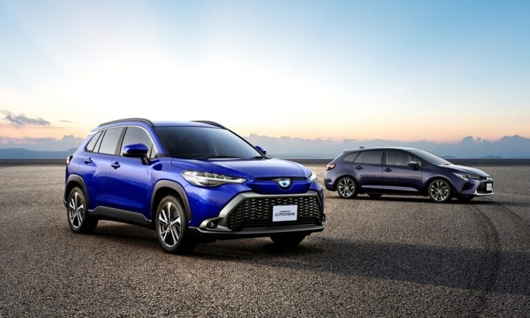 Toyota Corolla Cross Japan