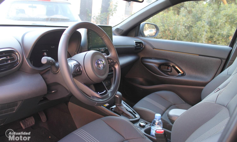 Prueba Toyota Yaris Cross interior