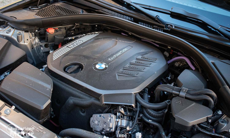 BMW motor combustión