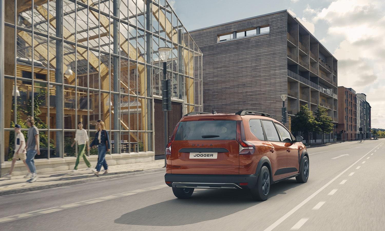 Dacia Jogger perfil trasero