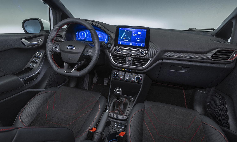 Ford Fiesta salpicadero