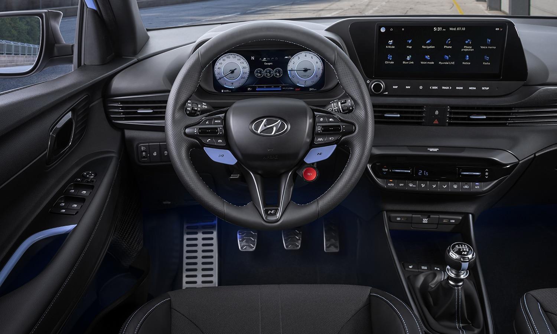 Hyundai i20 N interior
