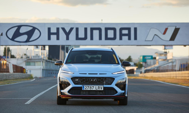 Hyundai Kona N frontal