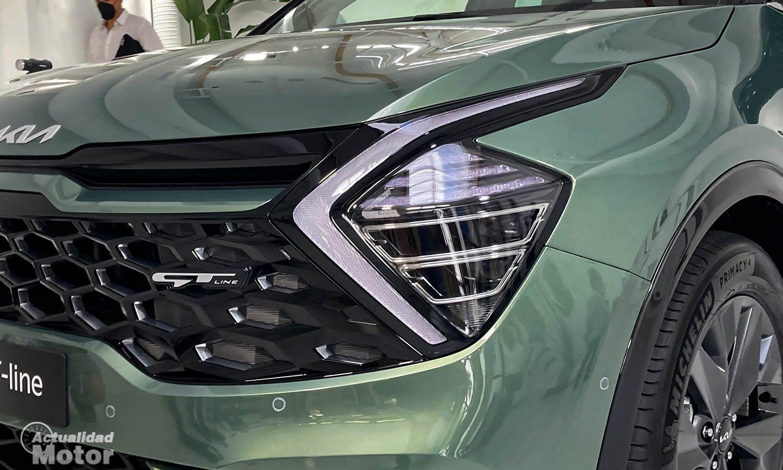 Kia Sportage faros LED