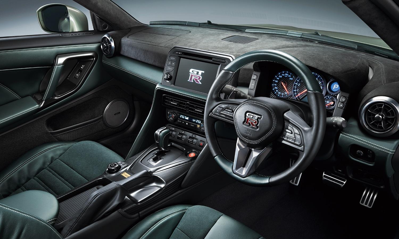 Nissan GT-R Premium Edition interior