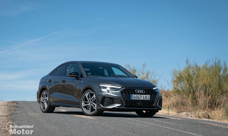Prueba Audi A3 Sedán perfil