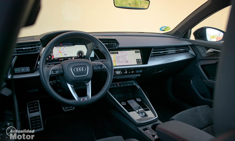 Prueba Audi A3 Sedán interior
