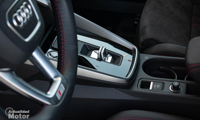 Prueba Audi A3 Sedán selector cambio automático