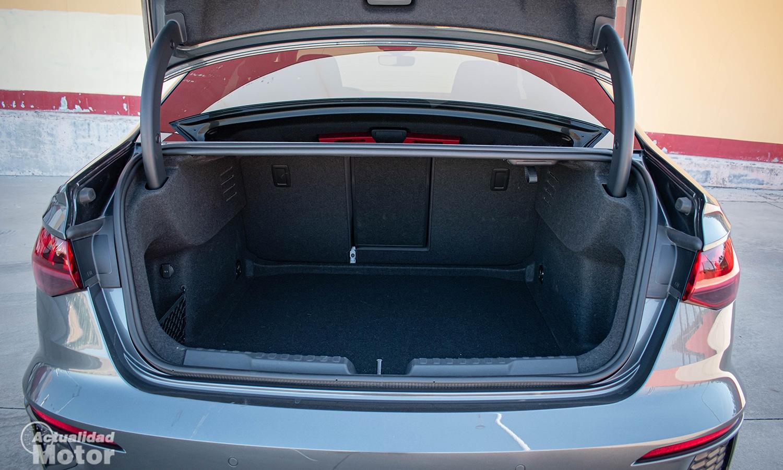 Prueba Audi A3 Sedán maletero