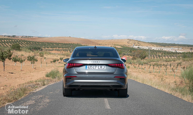 Prueba Audi A3 Sedán 150 CV gasolina trasera