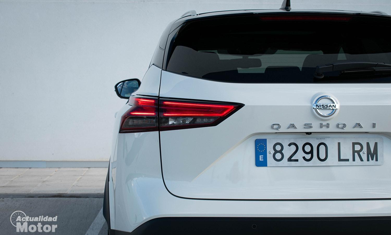 Nissan Qashqai piloto LED