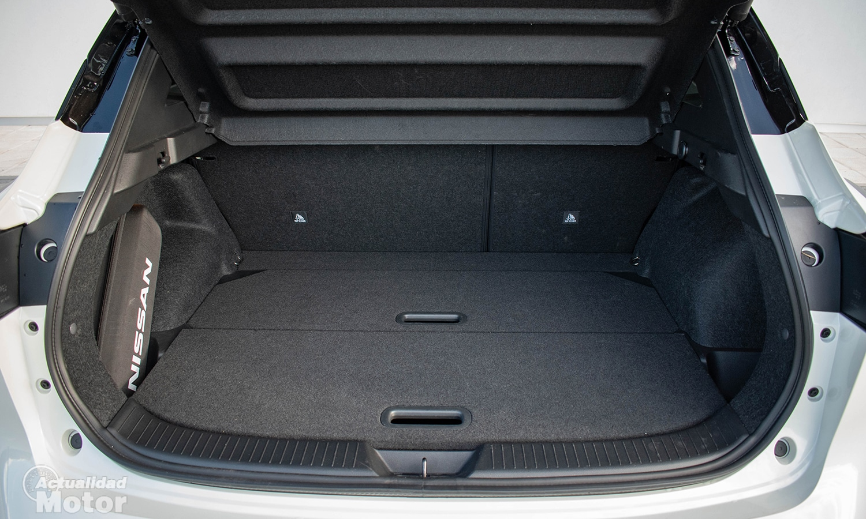 Prueba Nissan Qashqai capacidad maletero