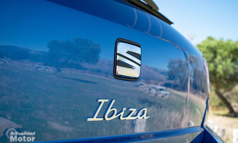 Prueba Seat Ibiza inscripción maletero