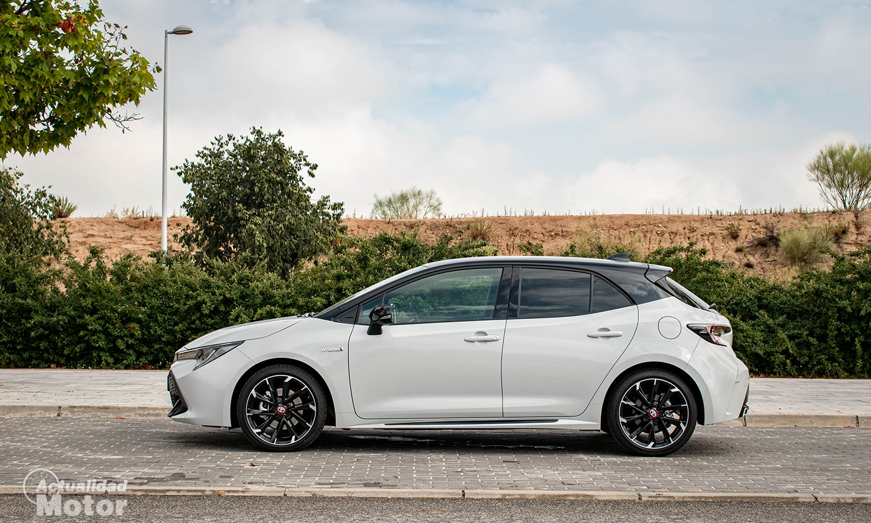 Prueba Toyota Corolla GR Sport lateral