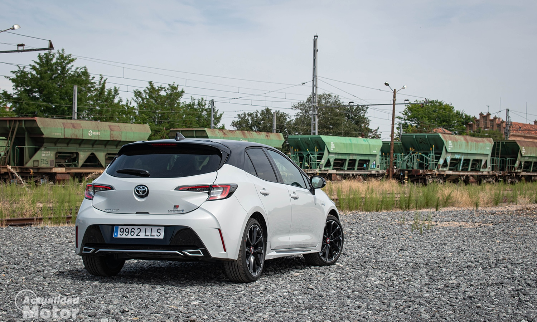 Prueba Toyota Corolla GR Sport trasera