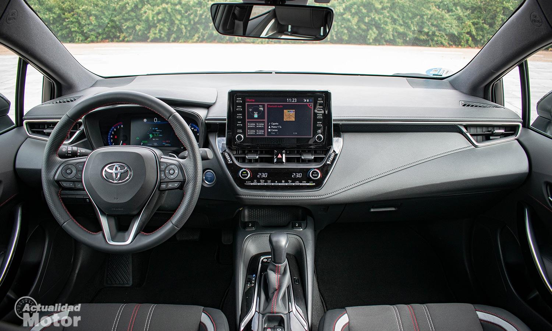 Prueba Toyota Corolla GR Sport salpicadero