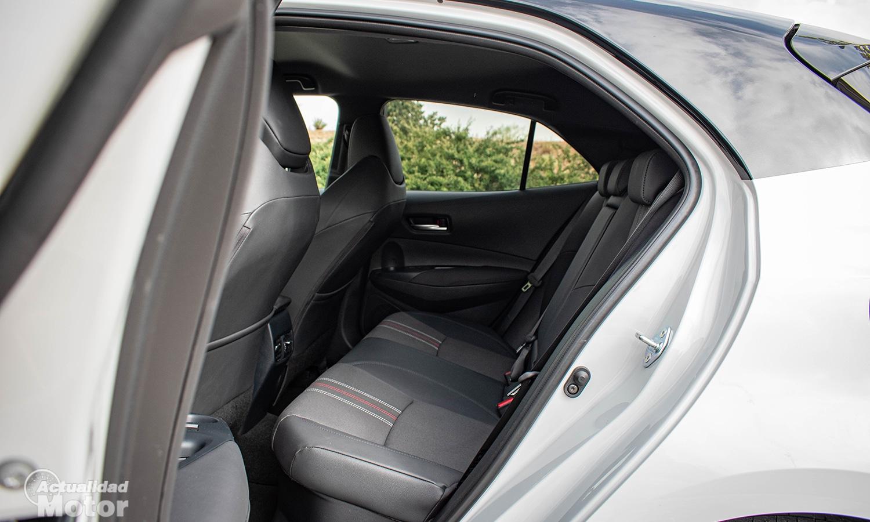 Prueba Toyota Corolla GR Sport plazas traseras
