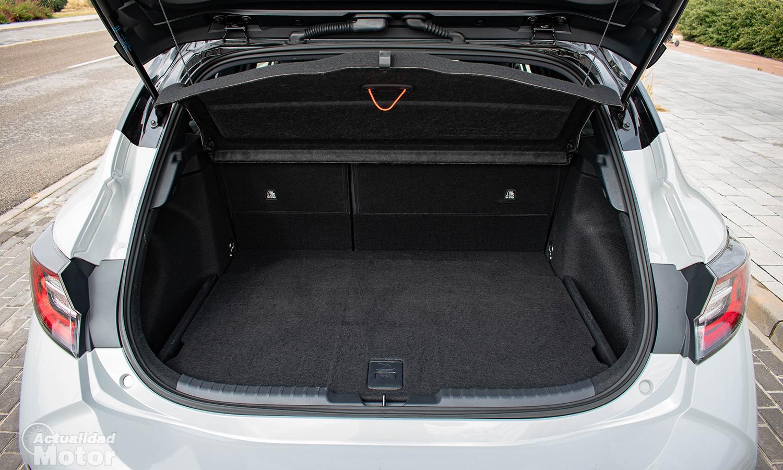 Prueba Toyota Corolla 180h maletero