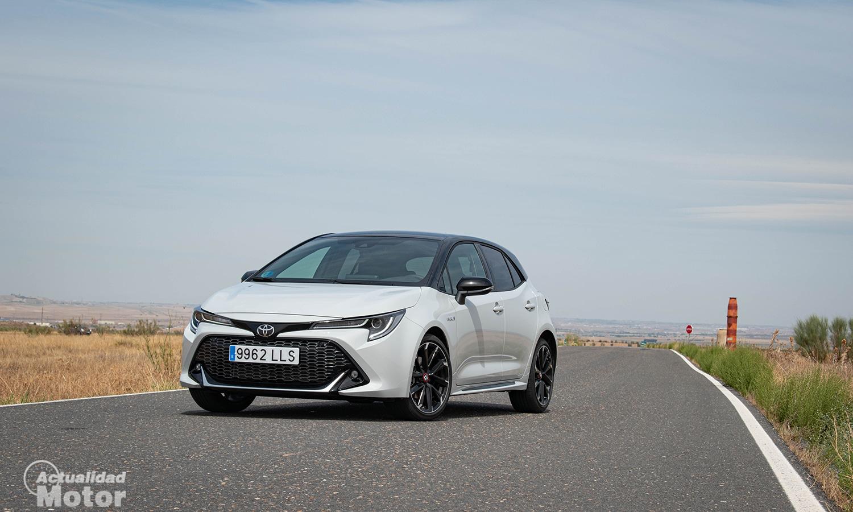 Prueba Toyota Corolla GR Sport delantera