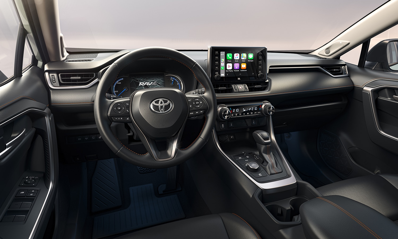 Toyota RAV4 Adventure salpicadero
