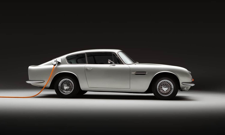 Aston Martin DB6 EV by Lunaz
