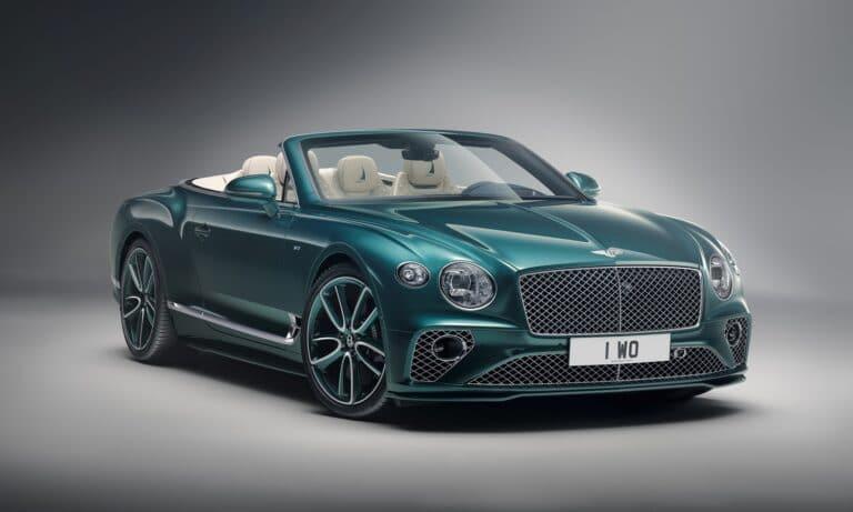 Bentley Continental GT V8 Convertible Mulliner Nautics Collections Nautics