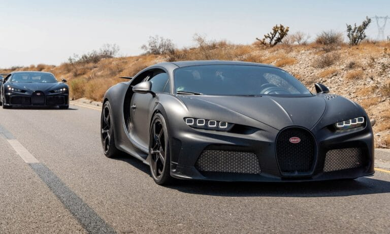 Bugatti Centodieci Passes Extreme 45°C Hot Weather Testing With Ease
