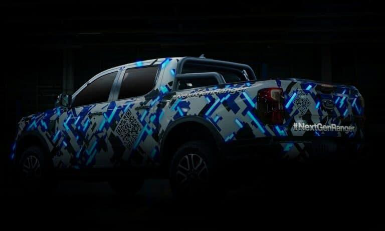Next-Gen Ford Ranger Digitized Camo Rear
