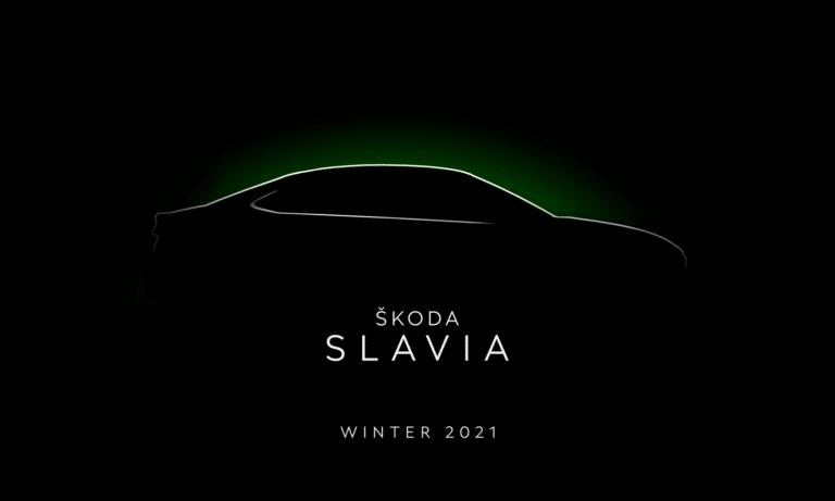 Skoda SLAVIA side teaser